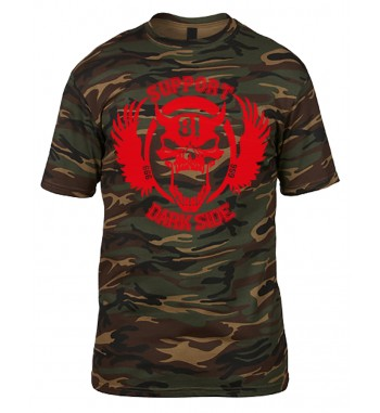 T-Shirt im Camouflage Tee...
