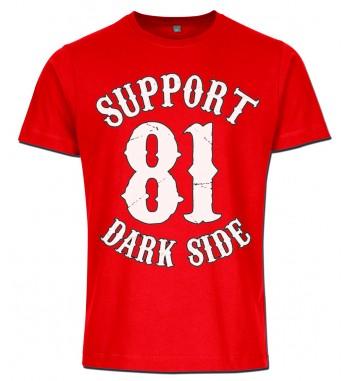 Rotes T-Shirt mit 2...