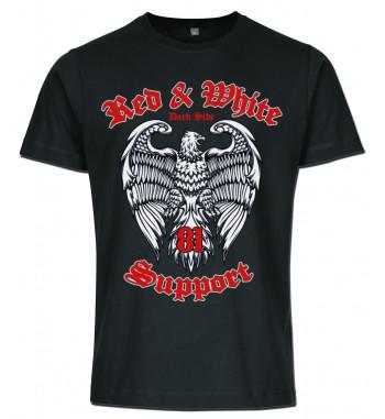 Schwarzes T-Shirt mit 3...