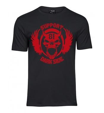 Shirt mit 1 Farbigen 666...